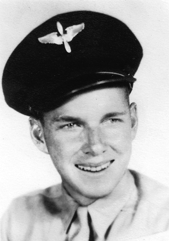Pvt. Ed Myslivecek at 18 shortly after completing boot camp at Camp Upton, Long Island, N.Y. in 1942.