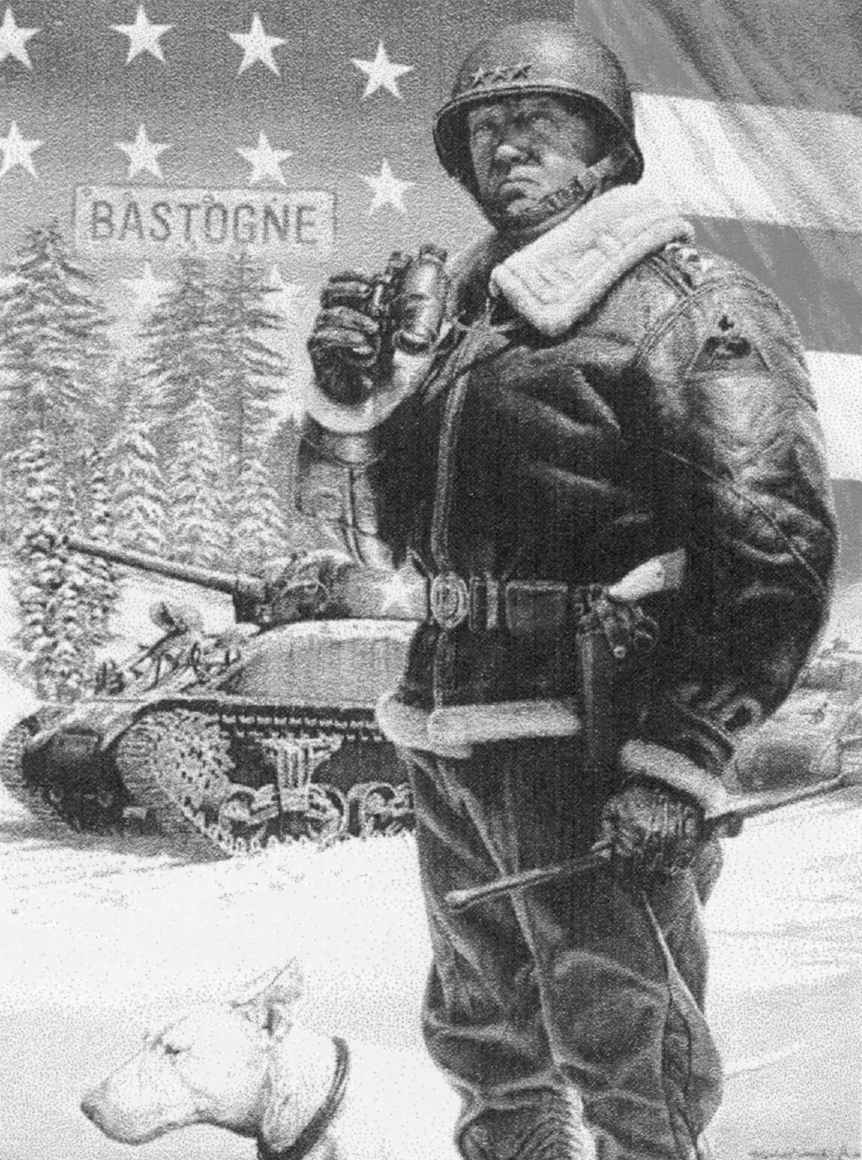 LES FEMMES - THE TRUTH: Would General Patton\'s Manly Christmas Card ...