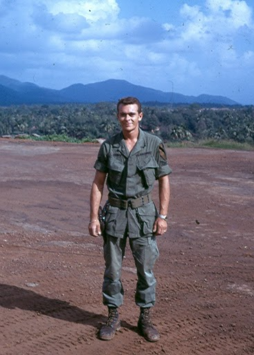 Rene Camps somewhere in Vietnam during one of his two tours over there. Photo provided