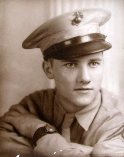 This was Willard Chamberlin at 17 when he graduated from cooks and bakers school in the Marines and joined the 1st Marine Division in the Pacific during World War II. Photo provided