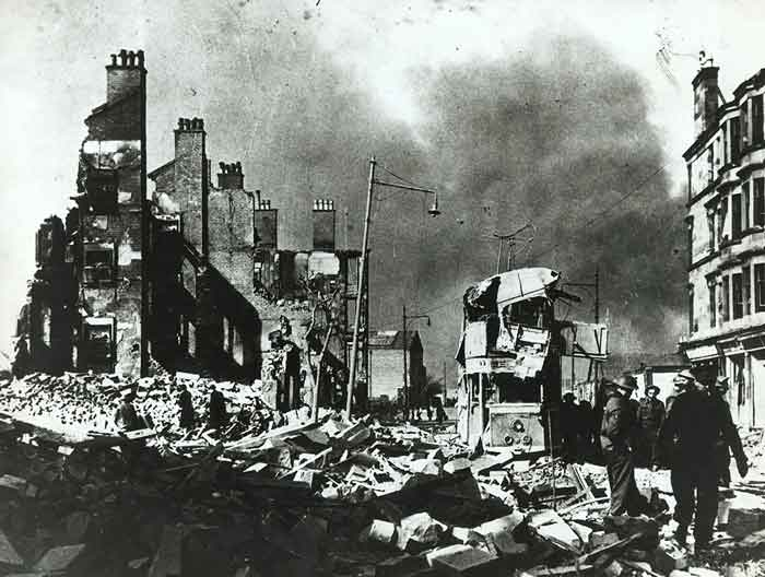 Glasgow Girl Recalls The Luftwaffe Bombing City During