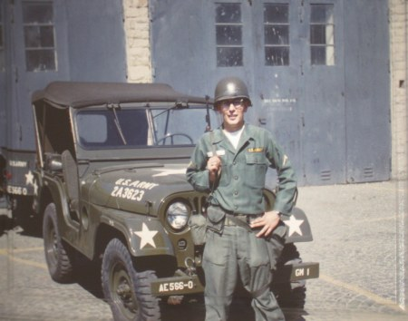 Pfc. Gordon Gade, who lives in Seminole Lakes, south of Punta Gorda, is pictured as a soldier in the 566 Ordinance Detachment when he served with a guided missile unit in Germany in 1958. Photo provided.