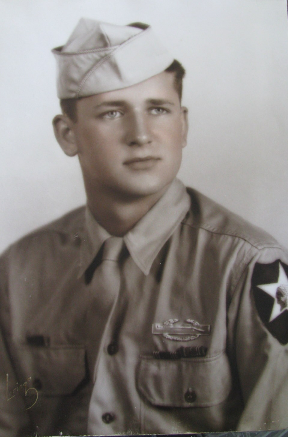 Pfc  Harold Snyder served in 2nd Division of Pattons's 3rd