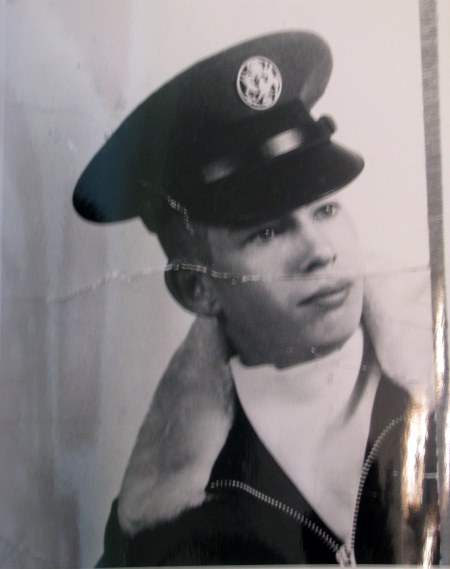 Young recruit: This was Jerry Steimle of Port Charlotte when he joined the Air Force at 18 in 1967. He served 25 years in the service, much of it as a crew chief in the Air National Guard. Photo provided