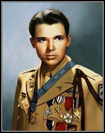 He Served With Audie Murphy In WWII Murphy Received - Audie