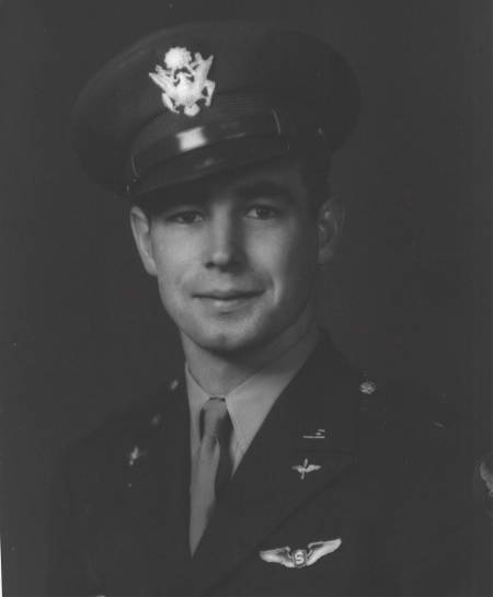 2nd Lt. Ken Stetson of Englewood is pictured when he graduated from flight school and received his wings during WW II. He flew a B-29 bomber on 30 combat missions over Japan. Photo provided