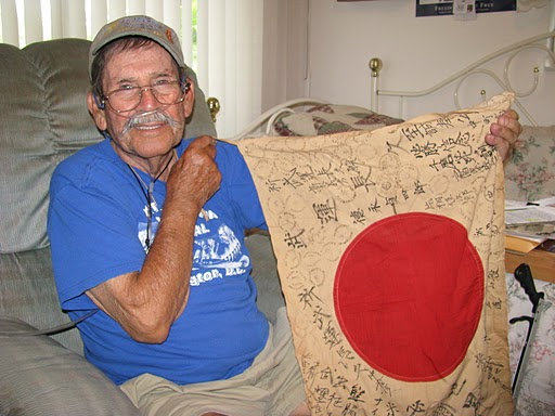Nick Melone Remembers How He Captured Japanese Flag War Tales