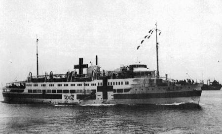 "The Tachibana Maru a 279-foot Japanese ""hospital ship"" was captured two weeks before the end of World War II by two American destroyers. The enemy ship was attempting to to smuggle soldiers, arms and ammunition to the Japanese mainland. Photo provided"