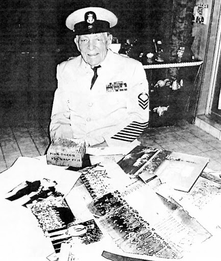 master chief herb schmaeling served aboard uss wasp part of adm 500 Lb Bomb WW2 master chief herb schmaeling served aboard uss wasp part of adm bull halsey s task force