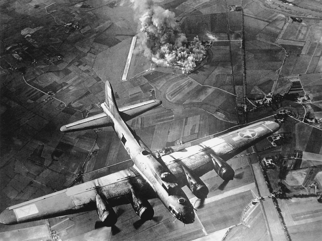 T/Sgt. Howard Dillingham nearly shot down in B-17 over ...