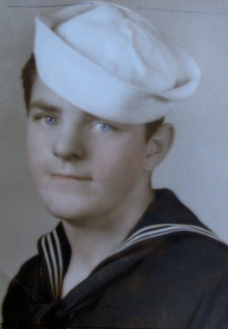 This was Ted Sivyer at 17 when he graduated from boot camp in 1941. He served as an antiaircraft gunner aboard the USS Butler and the USS Hamilton during World War II. Photo provided