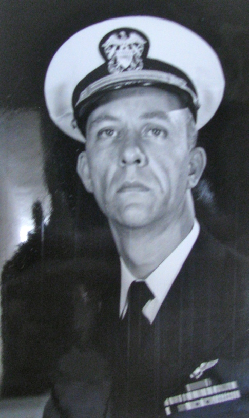 Lt. David Weaver is pictured in 1955 when he was 34 while serving at the Oceana VA Naval Base. Photo provided