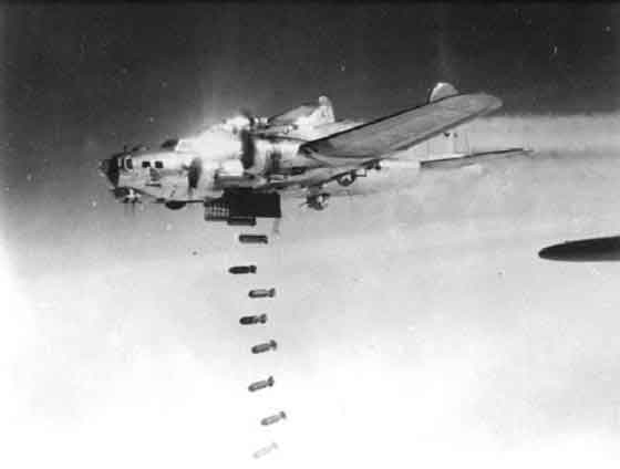 B-17, B-24 bombers pounded Germany and Japan into ...
