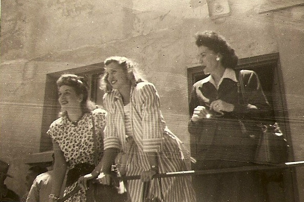 The Andrew Sisters -- LaVerne, Maxine and Patty--were part of a USO troop who arrived in Casablanca to entertain the troops during the end of World War II. McKenney snapped this pictured of the trio. Photo provided