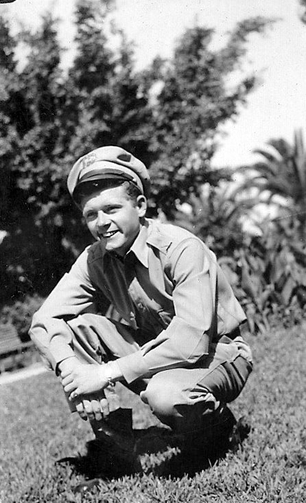 Joe McKenney of Arcadia was a 19-year-old warrant officer working on the flight line for the Air Traffic Command in Casablanca, Morocco in 1945 when this picture was taken. Photo provided