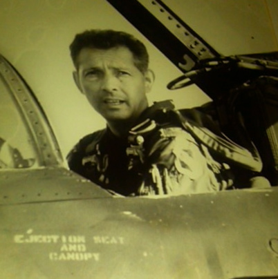 Col. Dick Carr of Burnt Store Isles, south of Punta Gorda, Fla., is pictured in the driver's seat of an F-4 Phantom fighter he flew during the Vietnam War. Photo provided by Dick Carr
