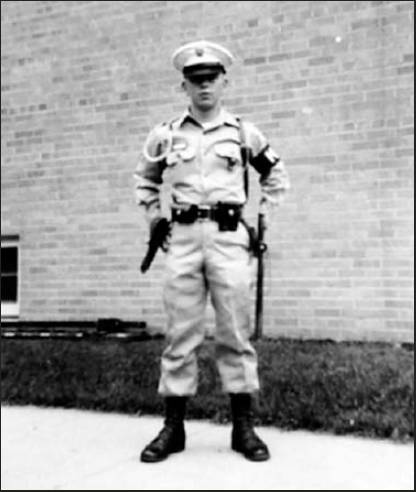Hawkinson was a teenage MP in this picture just before he was sent to Eniwetok Island in the Pacific in 1957 where dozens of atomic blasts were set off. Photo provided