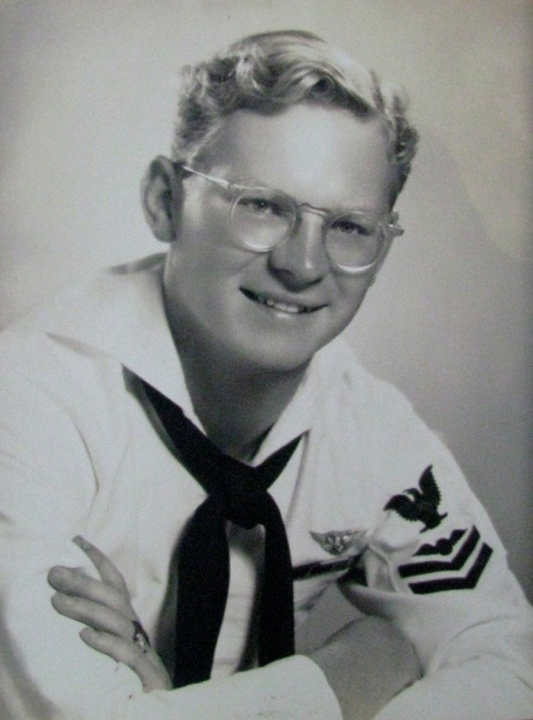 This was Schilke when he served in the Navy shortly after graduating from high school in 1947. Photo provided