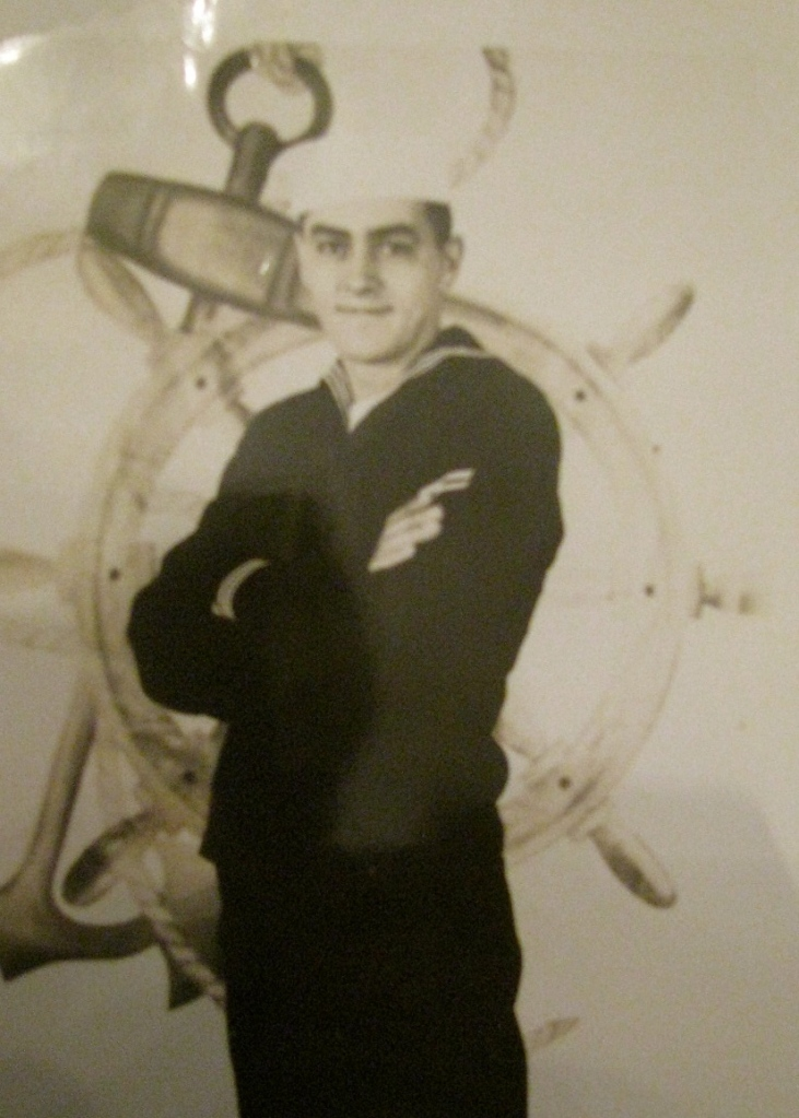 Everett Charles early in his Navy career. He joined in 1950, right out of high school. Photo provided