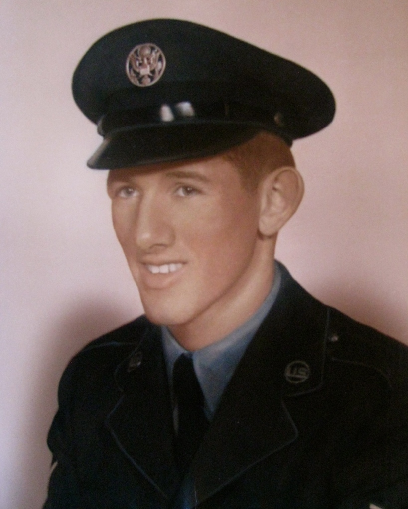 Norman was 20-years-old and had just graduated from Air Force boot camp in 1951 when this picture was taken. Photo provided