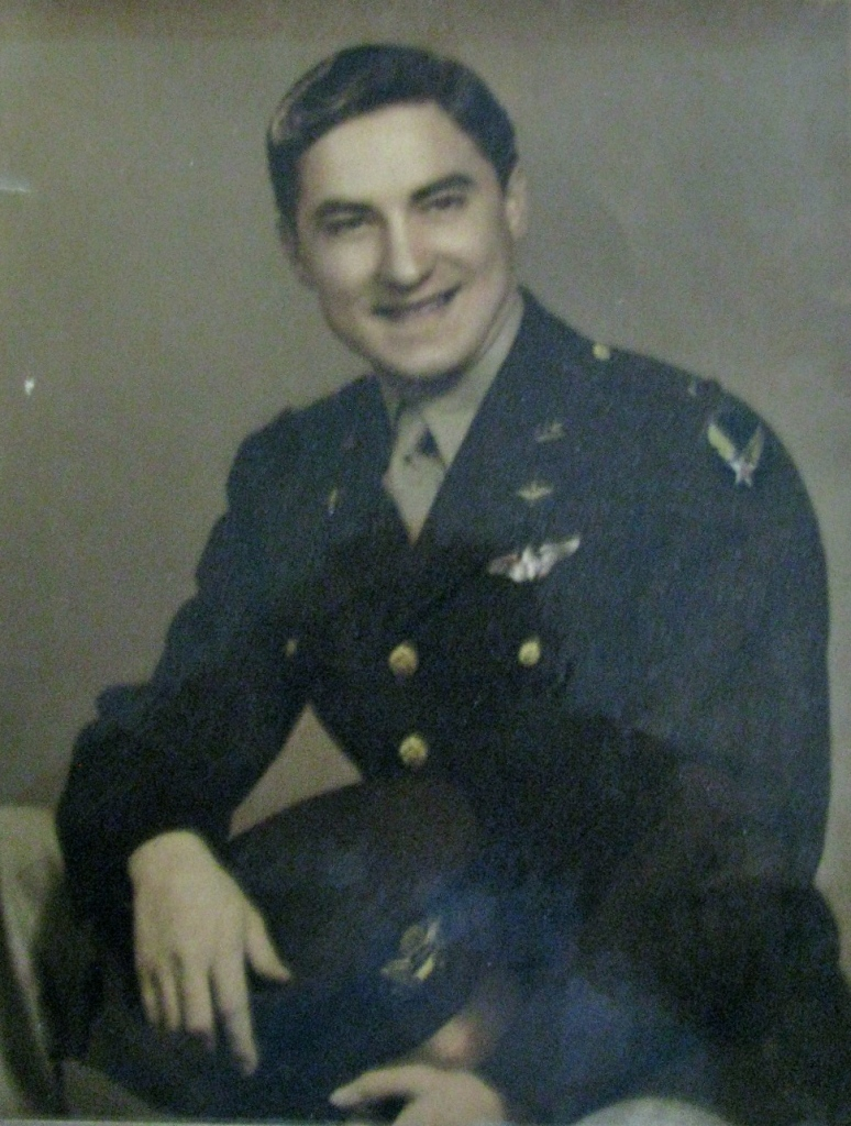 Clayton Raynes of La Casa mobile home park in North Port is pictured as a 22-year-old second lieutenant when he graduated from flight school in 1943 during World War II. Photo provided