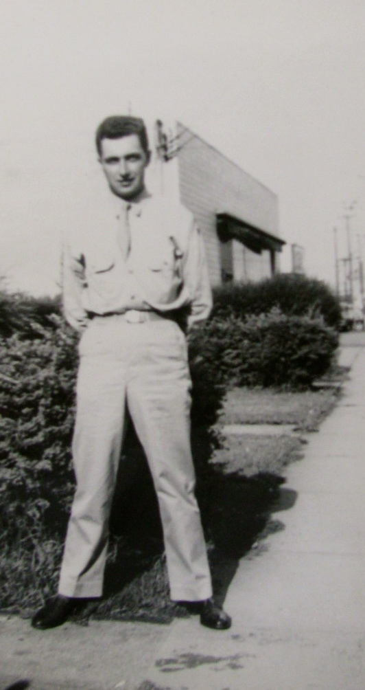 Housel is pictured shortly after he got out of boot camp at Camp Wood, Texas in 1943. Photo provided