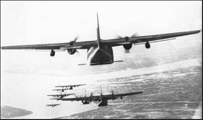 Firda was flying one of these C-123 twin-engine transports loaded with Agent Orange during the Vietnam War. It was his job to spray the enemyinfested jungle with the deadly defoliant so the leaves would fall.  Photo provided