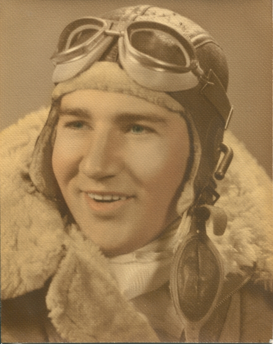 "2nd Lt. Matt Wilkinson had just received his wings when this picture was taken. He went on to fly 35 combat missions as the pilot of a B-24 ""Liberator"" bomber in World War II. Photo provided"