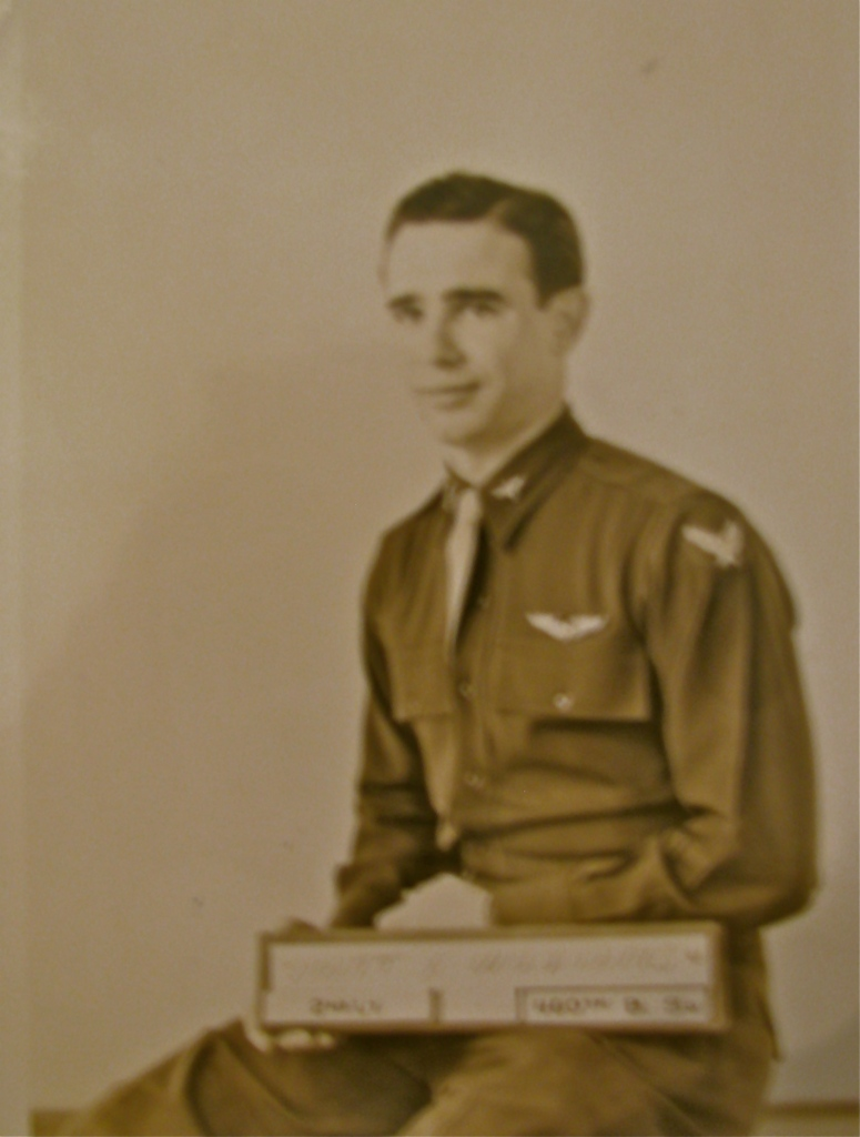 2nd Lt. Matt Williams is pictured at 20 when he received his wings after completion of the Aviation Cadet Program. Photo provided
