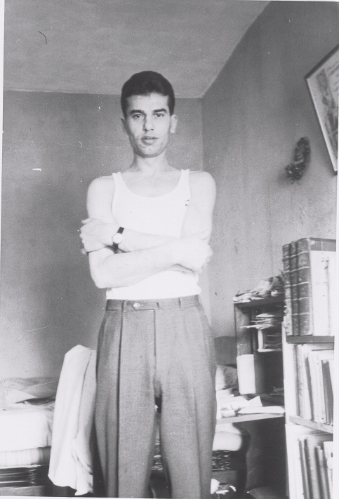 Dolana was a skinny young man when he arrived in the U.S.A. He was about 25 when this photo was taken. Photo provided