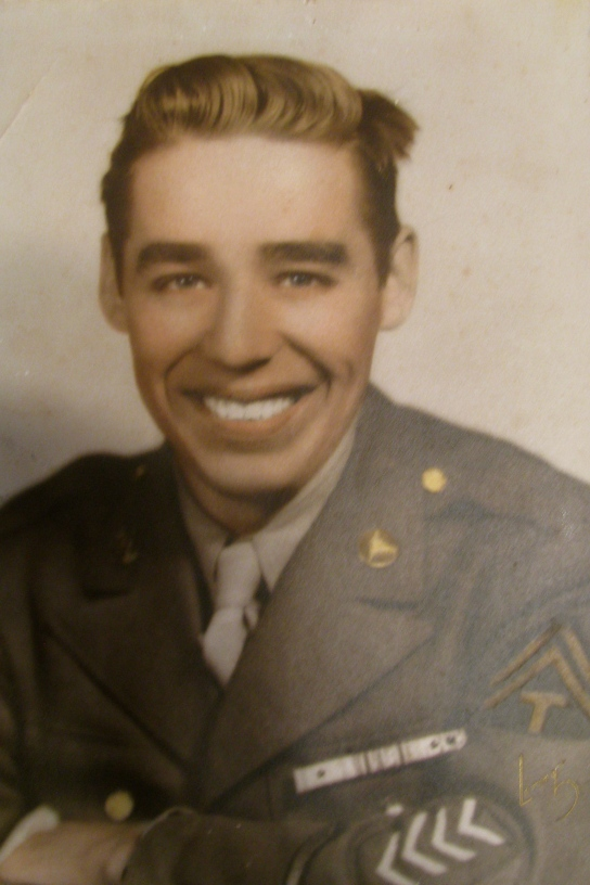 Sgt. Eddie Hrycaj is shown in his dress uniform after World War II. Photo provided