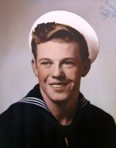 Roy Johnson is pictured about the time he graduated from boot camp in San Diego, Calif. in 1952 during the Korean War. He was 18. Photo provided