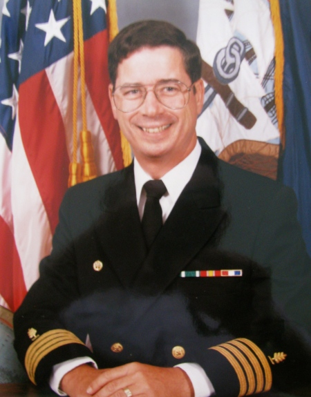 When Noel Hyde retired after 25 years in the Navy he was a captain in the Medical Service Corps. He served as executive officer, second in command, of the Naval Hospital in Oakland, Calif. Photo provided