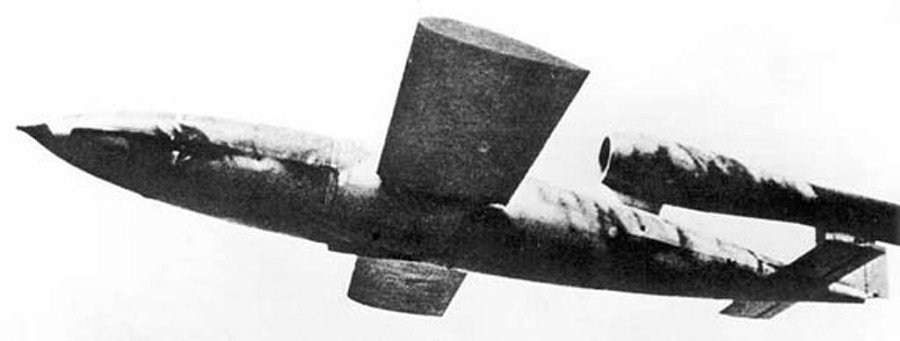 "A German-built V-1 ""Buzz Bomb"" that terrorized London in World War II drew upon concepts developed in Arcadia, Fla. in 1918, according to historian Howard Milton. Photo provided"