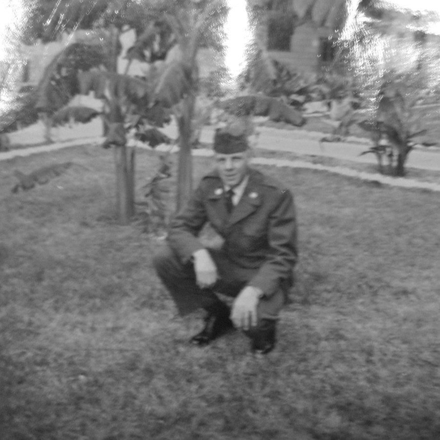 Heskett was 22 and working with a crash-rescue team at MacDill Air Force Base in Tampa in 1963. Photo provided