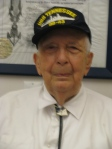 Rohn wearing his USS Tennessee ball cap at 95. Sun photo by Don Moore