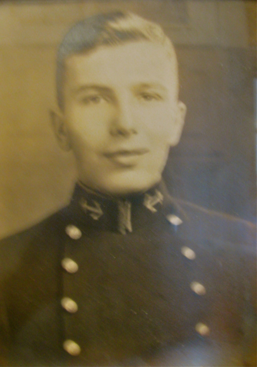 Bruce Rohn was a 19-year-old plebe at the U.S. Naval Academy at Annapolis in 1937 when this picture was taken. Photo provided