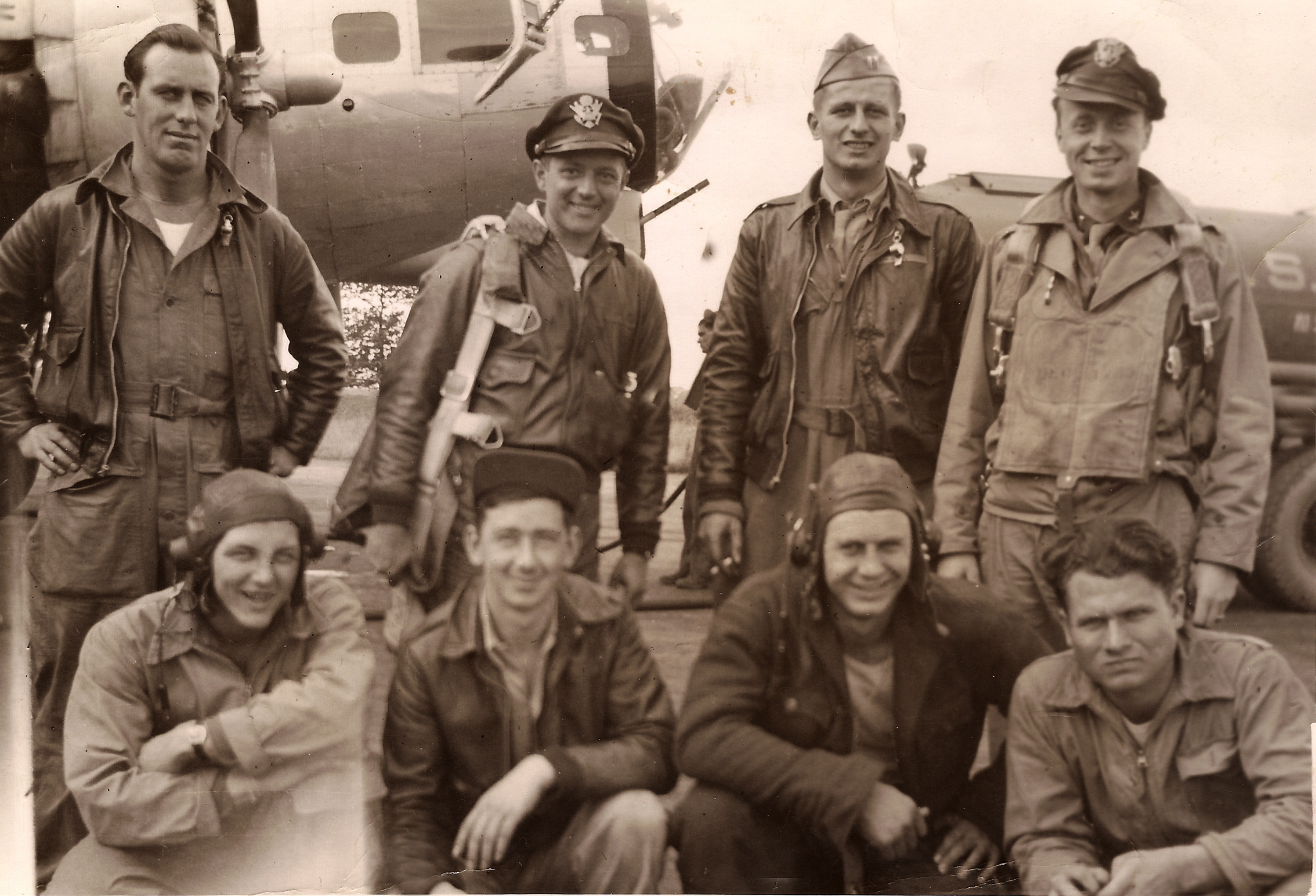 B-17 pilot Ernest Erickson wrote about a bombing raid on ...