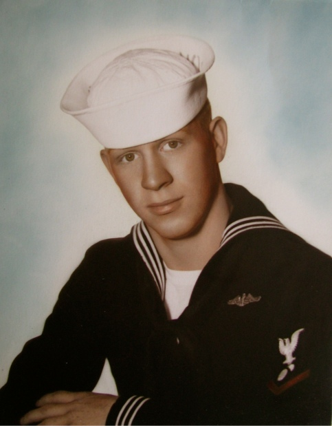 James Dundas was a 20-year-old petty officer third class when this picture was taken in 1963. Photo provided