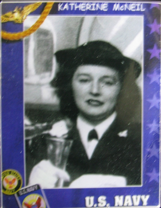 This was Kay Mc Neil as a 20-year-old WAVE boot camp recruit in 1944. Photo provided