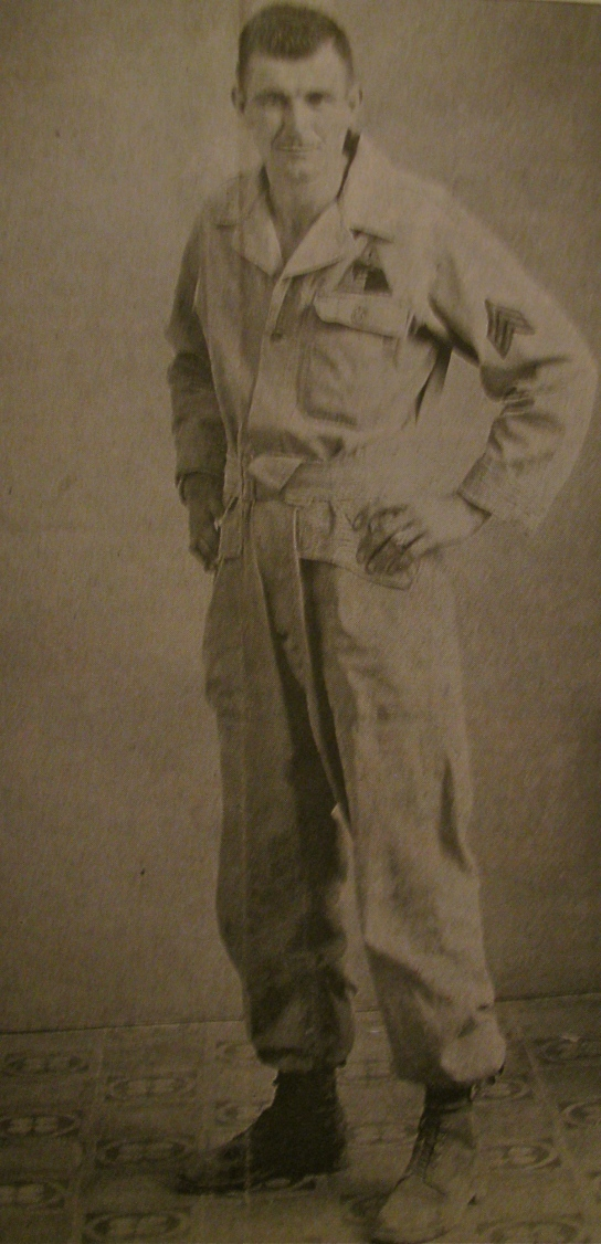 This was Cpl. Paul Grube of Port Charlotte, Fla. at 22 in North Africa when he fought with the 1st Armored Division at the Battle of the Kasserine Pass. Photo provided