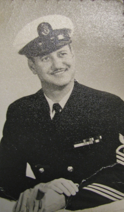 Medina's retirement picture. He was 37 and a Navy Chief when he got out of the service in 1966. Photo provided