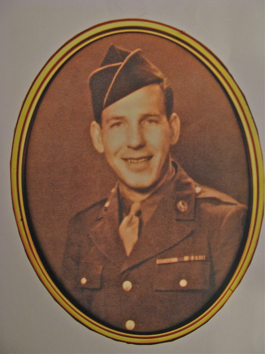 Sgt. R.J. Revell served in the 5th Army in Europe during the Italian Campaign during World War II. He was 20 years old when this photo was taken. Photo provided
