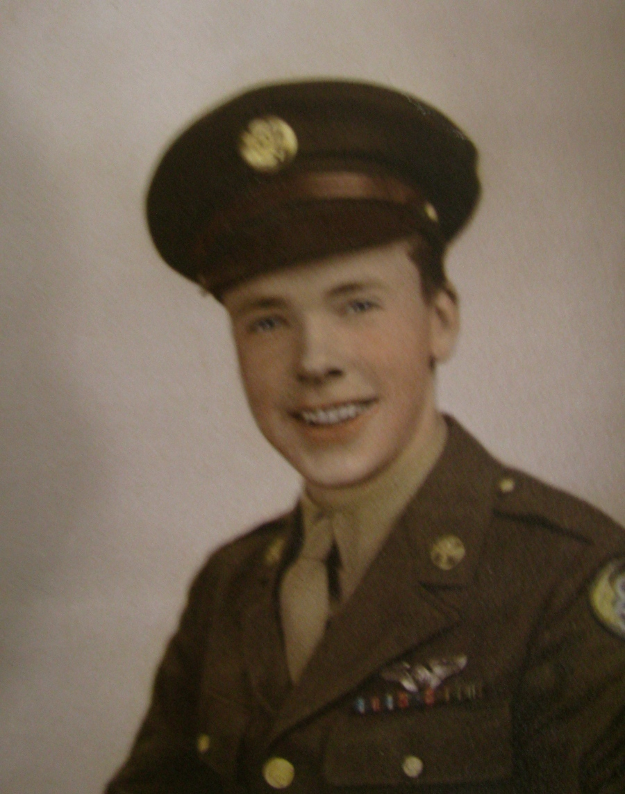 Sgt. Hugh Bennet of Englewood had returned from World War II when this picture of him was taken. He was 21 and it was shortly before he was discharged from the Air Force. Photo provided