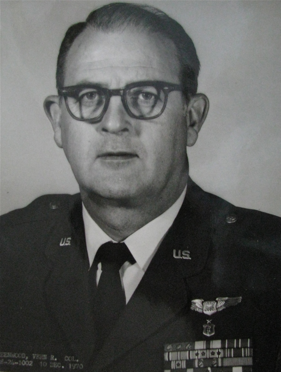 Greenwood is pictured in December 1970 when he was promoted to full colonel in the Air Force. He served 35 years in the military beginning in 1943 during World War II. Photo provided