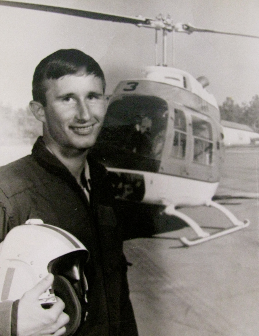 Lt. j.g. John Dickinson, a Navy helicopter pilot, served in Vietnam in 1969. He fell in love with Ngoc-Ha, a young Vietnamese girl, he lost her for 20 years after his year of service overseas was finished. Photo provided