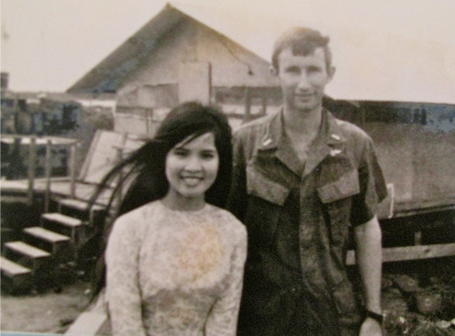 Ngoc-Ha and John were young lovers pictured holding hands in Ca Mau, Vietnam. They were caught up in a war that would make their lives difficult for decades until they finally found each other again a world away in the U.S. in 1992. Photo provided