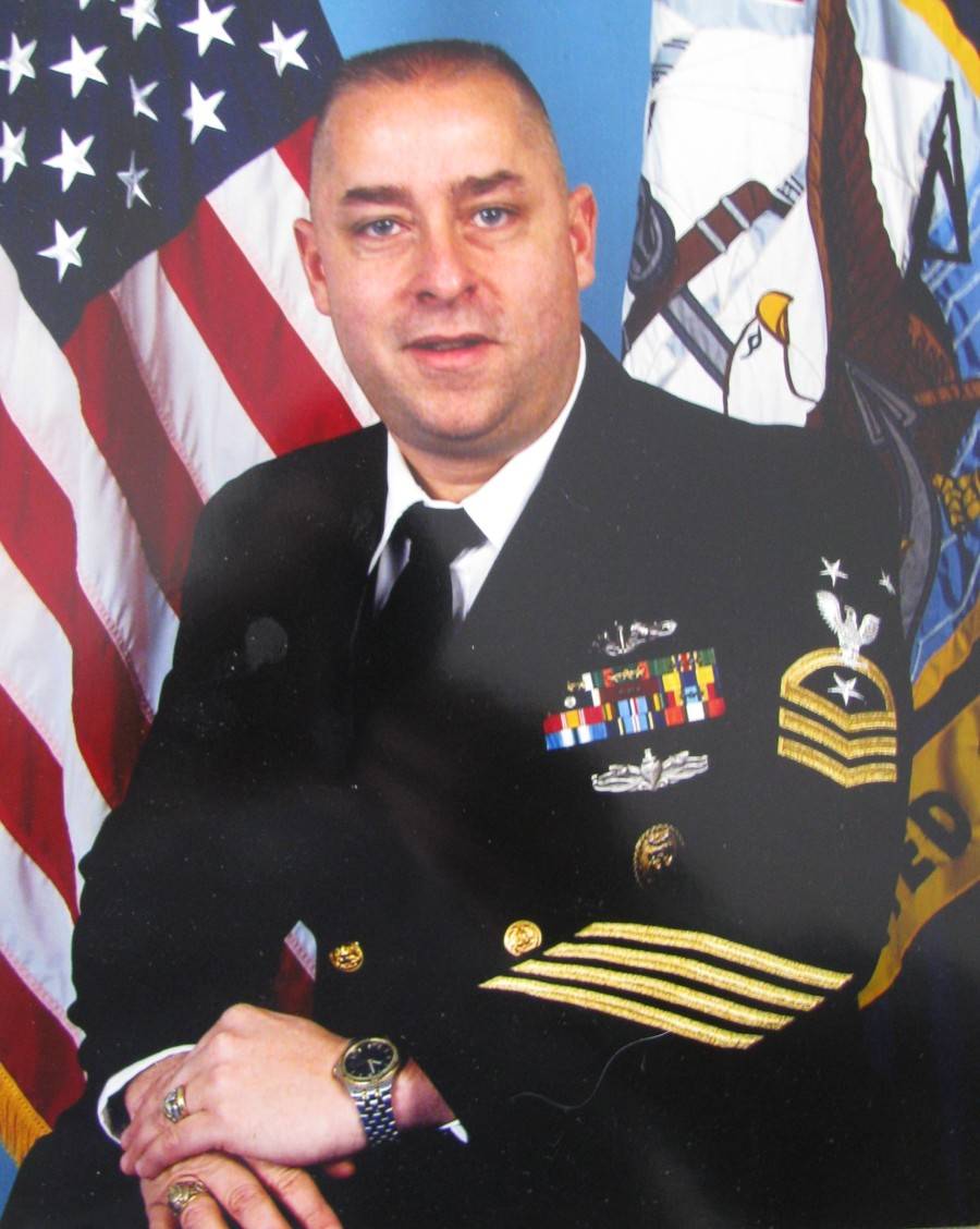 Jack Sanzalone was the command master chief of Sub Squadron-2 in Groton, Conn. when this picture was taken in 2000. Of the 350,000 members of the U.S. Navy, there were only about 750 chiefs in the navy with this rank. Photo provided