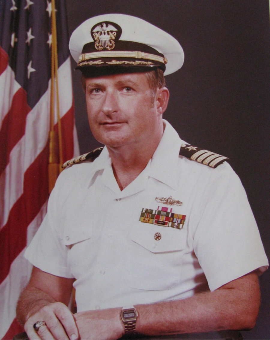 Mike Clarity happiest days in the Navy was when he was the skipper of the guided missile  destroyer USS Cochrane based at Pearl Harbor. Photo provided