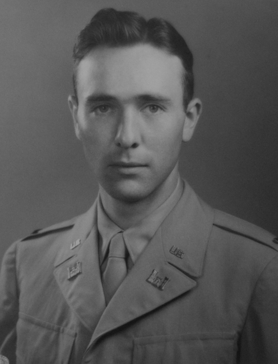 This was Fraser as a young lieutenant in the Army Corps of Engineers when he served in Germany in 1948 as part of the occupation troops after World War II. Photo provided